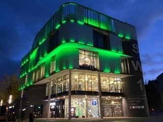 Telford & Wrekin Council glows Green!