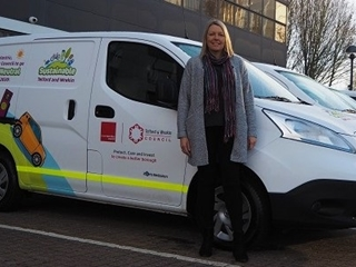Electric vans help Council to reduce carbon emissions